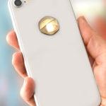 3D EMF zaštitni stiker Perun protector-žut